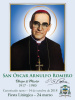 ***SPANISH***Special Limited Edition Collector's Series Commemorative Archbishop Oscar Romero Canonization Magnets
